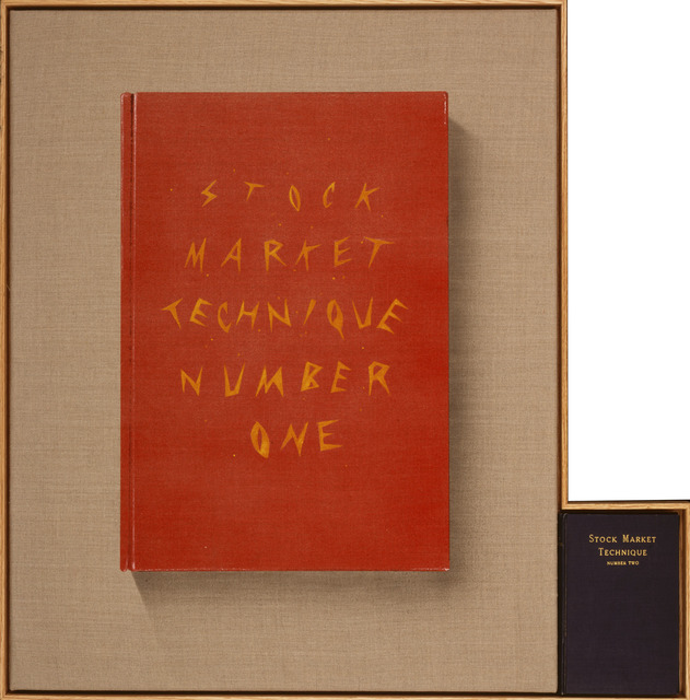 , 'Stock Market Technique, Numbers 1 & 2,' 2002, Gagosian Gallery