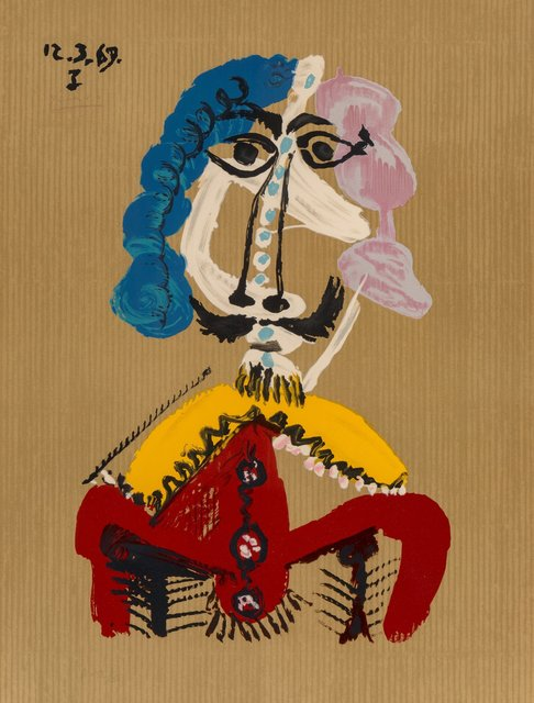 after Pablo Picasso, 'Untitled, from Imaginary Portraits (from the American Edition)', 1972, Heritage Auctions