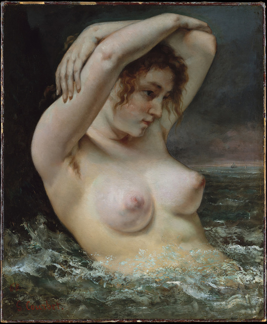 , 'The Woman in the Waves,' 1863, The National Gallery, London