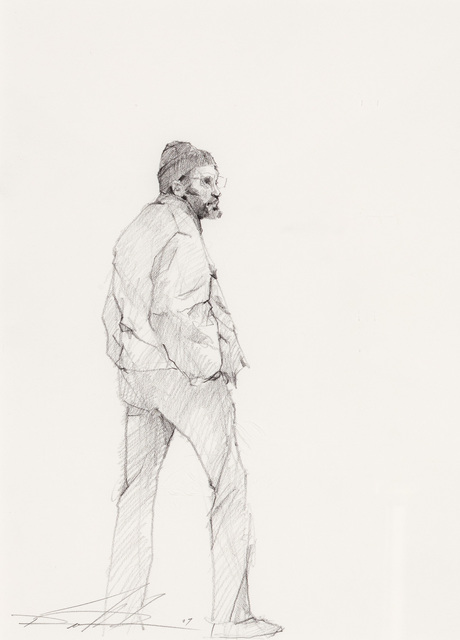 , 'Standing Figure of Man ,' 2007, Mac-Gryder Gallery