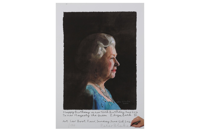 Peter Blake, 'To Her Majesty, Queen Elizabeth II', 2016, Chiswick Auctions