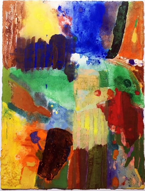 , 'Untitled Abstract Expressionist painting,' ca. 1980, Alpha 137 Gallery
