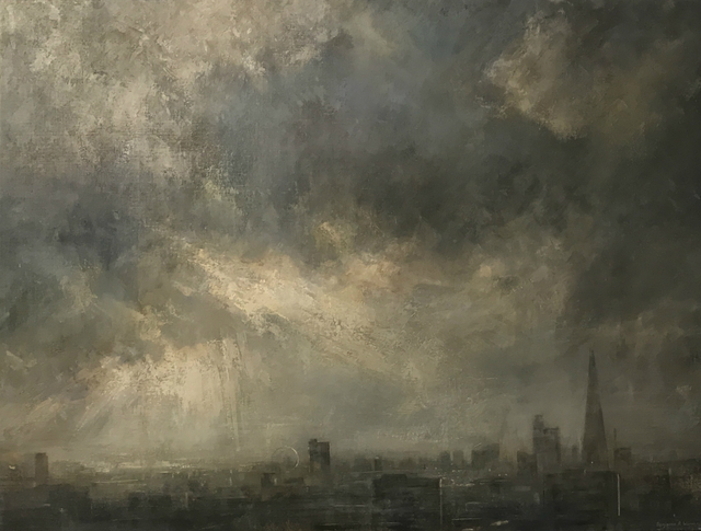, 'Breaking Light over London Skyline,' 2017, Tanya Baxter Contemporary