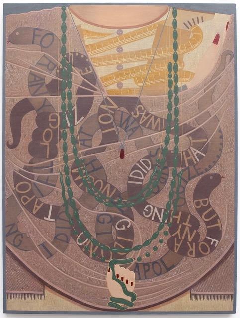 , 'Snake Shawl,' 2017, Shulamit Nazarian