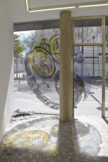 , 'Mechanism III [Constant Force], Installation view, 'Dead Seconds', Shanaynay, Paris, France.,' 2016, Dürst Britt & Mayhew