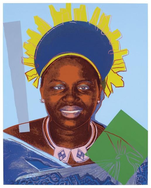 Andy Warhol, 'Reigning Queens, Queen Ntombi Twala of Swaziland (F.S. II. 347)', 1985, JF Fine Arts & Verosa