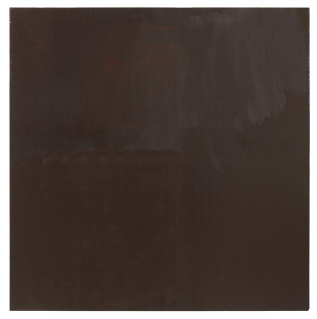 , 'Dark Brown – Marron foncé – Dunkelbraun,' 2015, Galerie Joseph Tang
