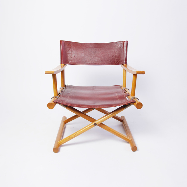 , 'LEATHER DIRECTOR'S CHAIR BY SUNE LINDSTRÖM,' 1962, Lawton Mull