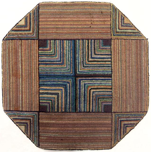 , 'Geometric Octagon Mat,' ca. 1939, Edward Thorp Gallery