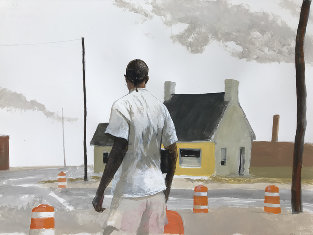 , 'MillTown (Where Talbotton Road Turns into Warm Springs Road Near Buck Ice),' 2019, Dowling Walsh