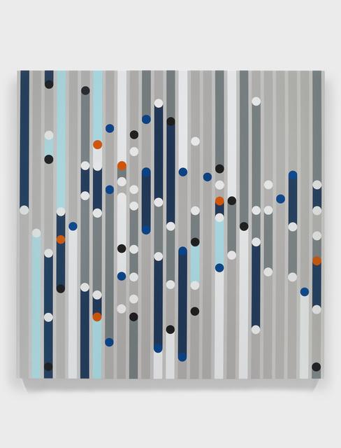 , 'Bad City (Sound Graph),' 2019, White Cube