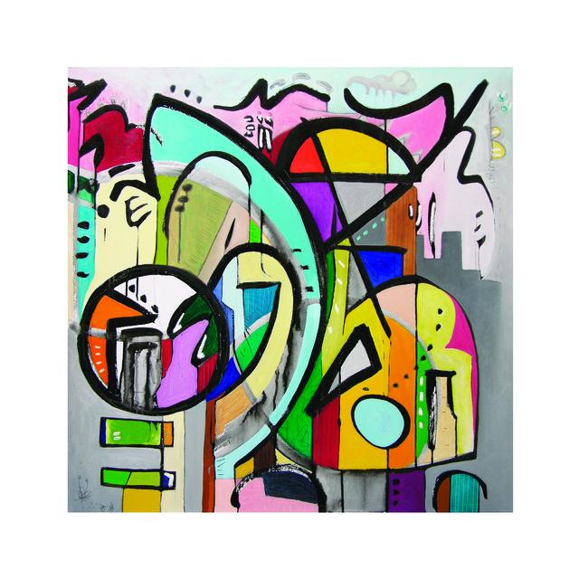 , 'Rhythm No Algorithm 2,' 2018, Walter Wickiser Gallery