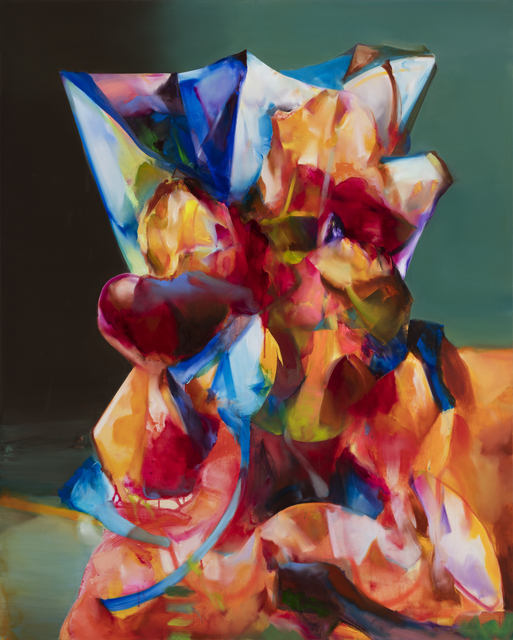 Jihoon Ha, 'landscape- structure #26(iceberg)', 2021, Painting, Acrylic, oil on canvas, Leehwaik Gallery