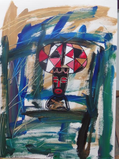 "Francisco ""Van"" Van-Dúnem, 'Civilação Ocidental 2', 2015, Tamar Golan Gallery"