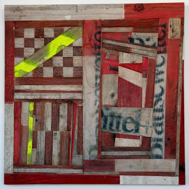 , '108 Streifen ,' 2016, Christine König Galerie