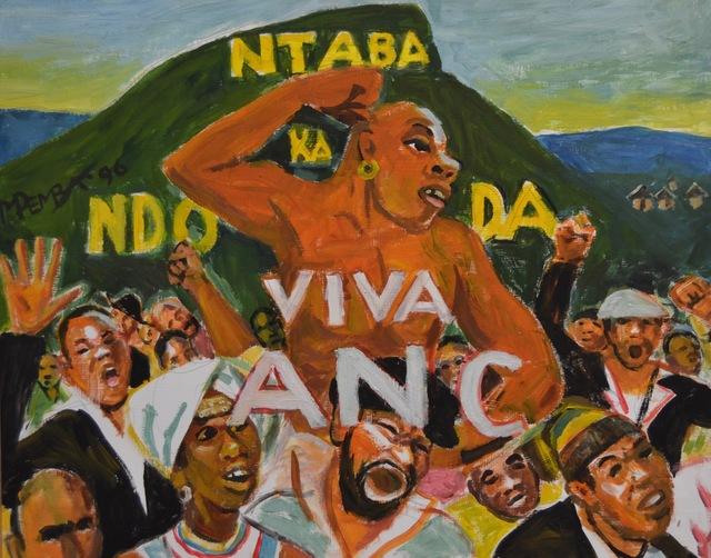 , 'Ntaba kaNdoda, Viva ANC,' 1996, Gallery MOMO
