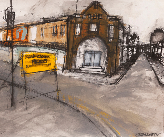 , 'Roadworks, Leith,' ca. 2017, Tatha Gallery