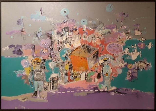 , 'Dos Astronautas,' , Ford Fine Art
