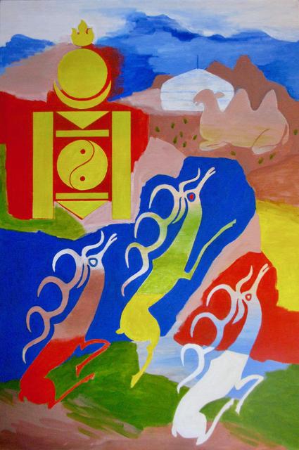 , 'Mongolia Calling,' 2018, Carter Burden Gallery