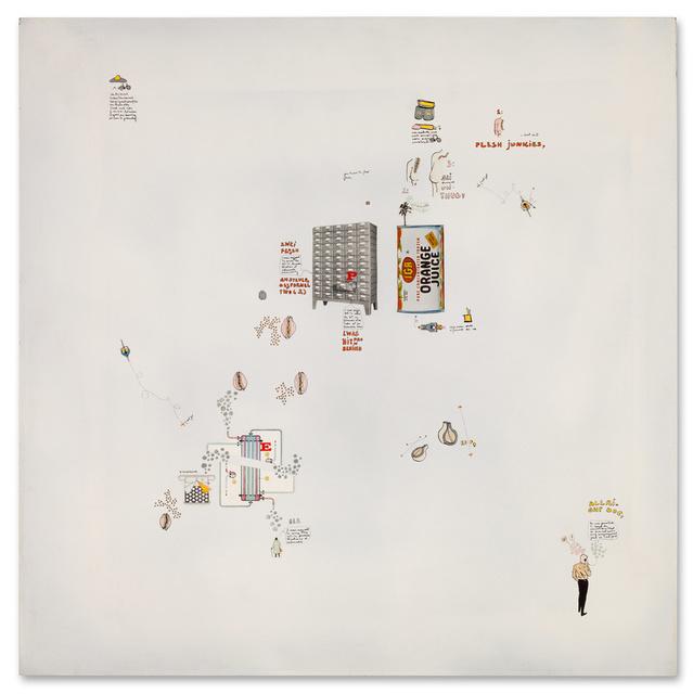 , 'Zwei Frauen am Steuer des Formel 2,' 1968, Galerie Michael Hasenclever