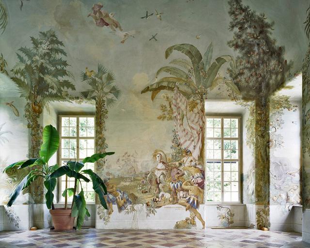 , 'Gartenpavillon Stift Melk, AT, Fresko von Johann Wenzel Bergl, Nr. 4,' 2008, Christine König Galerie