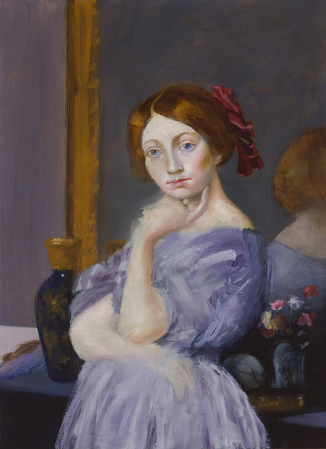 Elise Ansel, 'Red Ribbon (after Ingres)', 2015, Ellsworth Gallery