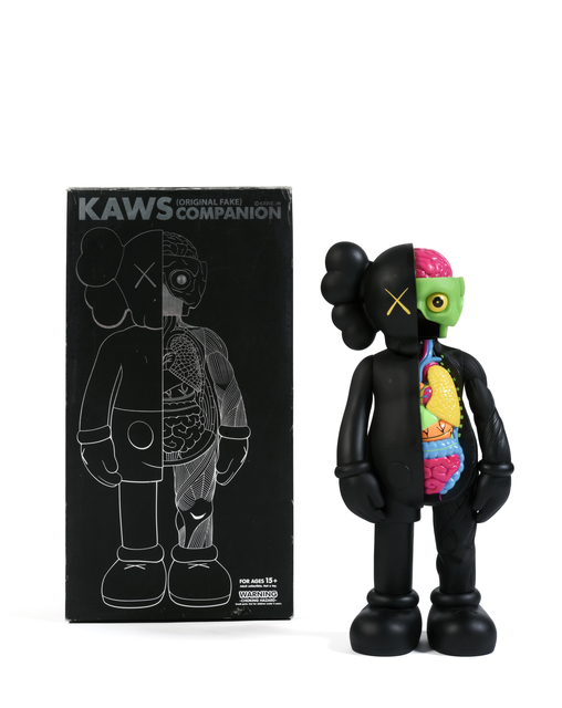 KAWS, 'Five Years Later Dissected Companion (Noir)', 2006, Digard Auction
