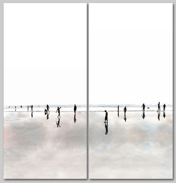 , 'Beach 80 & 81,' 2013, Lanoue Gallery