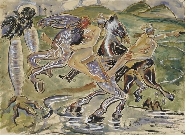 Carlos Enriquez, 'El rapto', Sotheby's