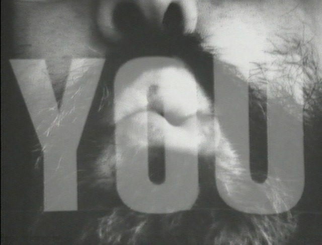 , 'I Love You, I Love You and I Think You Love Me too,' 1976, Instituto de Visión