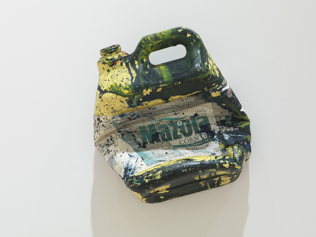 , 'Corn oil bottle,' 2011, Gagosian Gallery