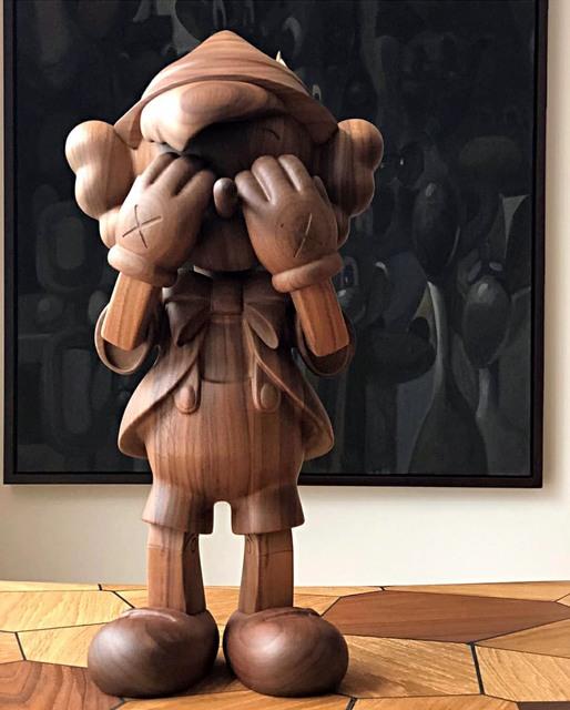 KAWS, 'KAWS x Disney 'PINOCCHIO'', 2018, Sculpture, Wood, Gin Huang Gallery