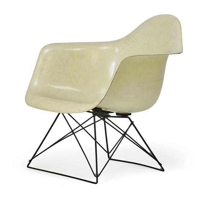 Charles Eames, 'Lounge Arm Rod Chair (Lar), Zeeland, MI', 1950s, Rago/Wright