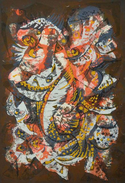 , 'Madrilène,' 1957, Canadian Art Group