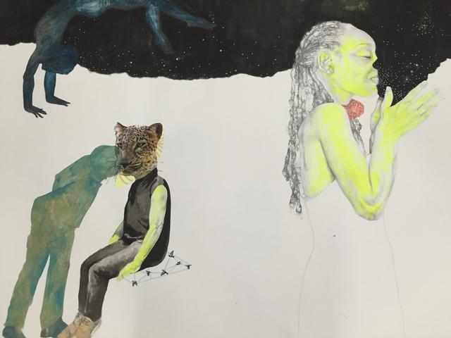 ruby onyinyechi amanze, 'Midnight and the loving Spy ', 2015, Mariane Ibrahim Gallery