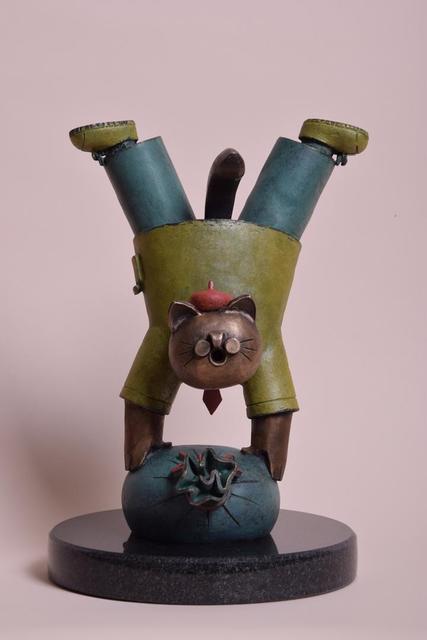 Jiang Shuo, 'Lucky Cat – Dollar Bag 幸运猫-金袋 ', 2019, Linda Gallery