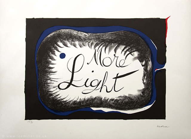 , 'More  Light,' 1980, °CLAIR Galerie