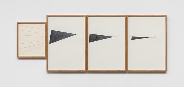 , 'Sem título (políptico) - Exercicio de contenção, saturação e reiteração,' 2016, Galeria Raquel Arnaud
