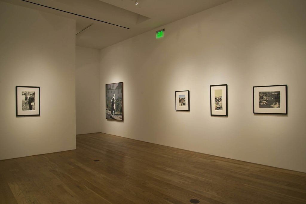 """The Edge of Town,"" Installation View at Samuel Freeman, 2011"
