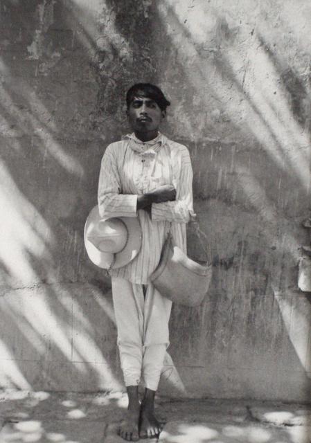 Manuel Álvarez Bravo, 'Senor De Papantla (Man From Papantla)', 1934, Scheinbaum & Russek Ltd.