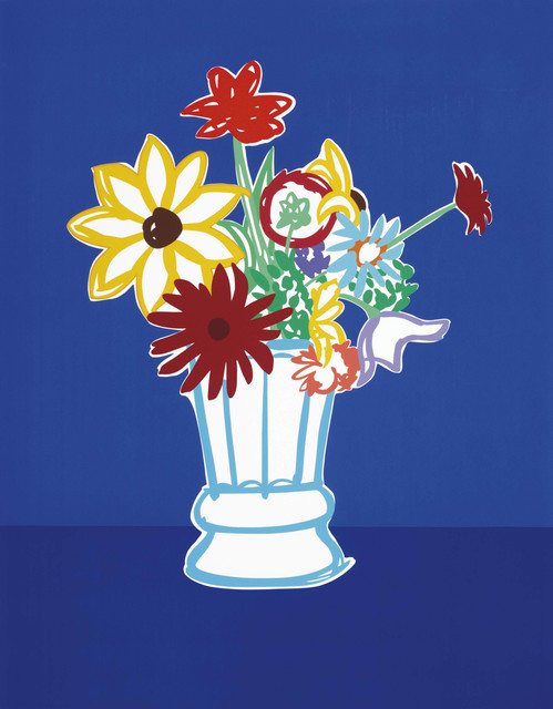 Tom Wesselmann, 'COUNTRY BOUQUET WITH BLUE', 1991, Gallery Art