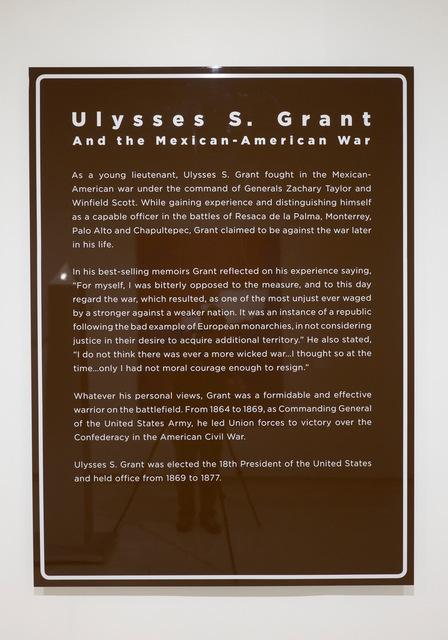 , 'The Missing Roadside History - Ulysses S. Grant,' 2016, Rick Wester Fine Art