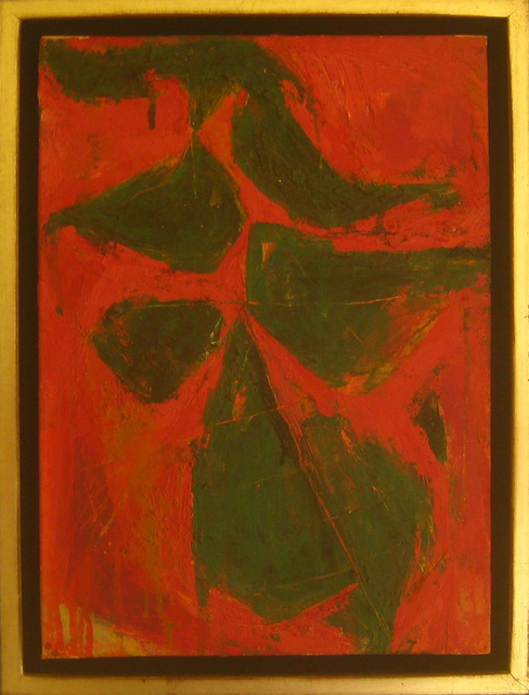 Fritz Bultman, 'Plant in Conservatory / Leaves for Muriel', 1953, Octavia Art Gallery