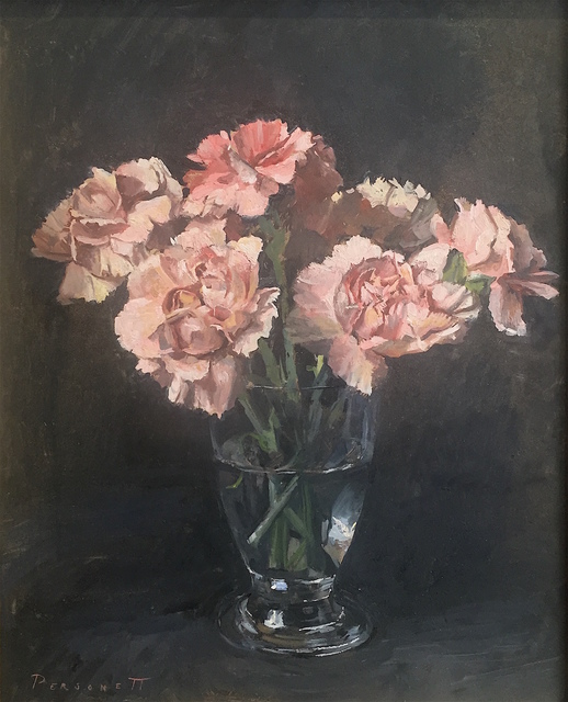 , 'Pink Flowers,' 2018, Grenning Gallery