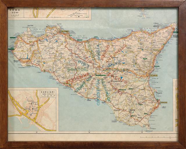 , 'Sicilia,' 1974, Dep Art