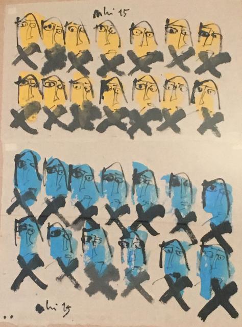 , 'My Little Happiness 16_Yellow Blue,' 2015, Art Vietnam Gallery