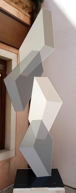 Rafael Barrios, 'Malabarismo Lineal M281 - Grays', Bel-Air Fine Art