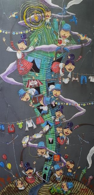 , 'Under One Roof (Sa Iisang Bubong),' 2018, Di Legno Gallery