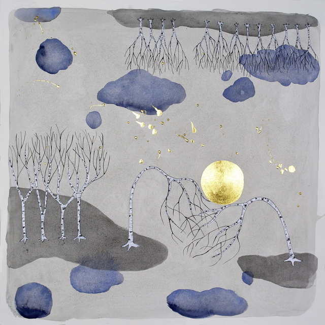 , 'the moon, 'reciprocal',' 2014, Hosfelt Gallery