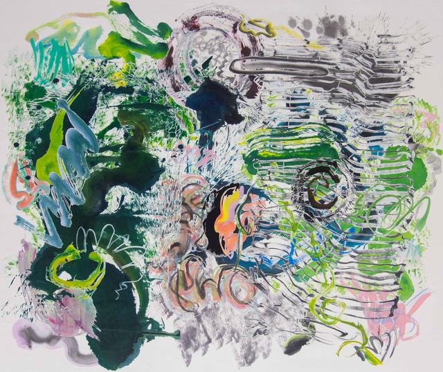 , '500 Brushstrokes #61 五百笔 #61,' 2019, Chambers Fine Art